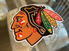 Chicago Blackhawks Hockey Team Logo NHL Sticker Decal Vinyl $4.49 USD on eBay