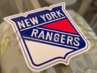 New York Rangers Hockey Team Logo NHL Sticker Decal Vinyl #PlayLikeANewYorker $8.49 USD on eBay