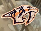 Nashville Predators Hockey Team Logo NHL Sticker Decal Vinyl #Preds $4.49 USD on eBay