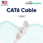 CAT6 Patch LAN Network Cable RJ45 Ethernet Modem Internet Cord 1.5-100FT Lot