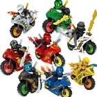 Cartoon Motorrad Blöcke Kinder Educational Brick Building Sets Spielzeug TXSP