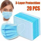 20/40/60/80/100 PC Face Mask Mouth & Nose Protector Protection Masks with Filter