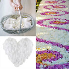 Silk Flower Rose Petals Wedding Party Decoration White Favors Decor