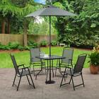 Patio Furniture Set Table and Chairs Umbrella Outdoor Dining Sets Clearance