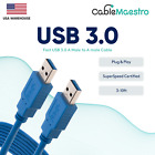Внешний вид - USB 3.0 Extender Extension Cable Cord Type A Male to A Male 3-10FT HIGH SPEED