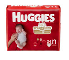 Huggies Unisex Baby Diaper for Little Snugglers Newborn Disposable Heavy Absorb