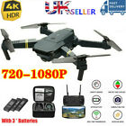 Drone X Pro WIFI FPV 4K HD Camera 1-3Batteries Foldable Selfie RC Quadcopter HOT