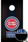 Detroit Pistons Cornhole Wrap NBA Decal Sticker Surface Texture Single W50 on eBay