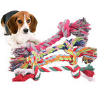 1pcs pet supplies Pet Dog Puppy Cotton Chew Knot Toy Durable Braided Bone Rop P1