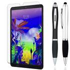 Stylus Pen + Tempered Glass Screen Protector Guard Shield For LG G Pad 5 10.1""
