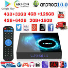 6K T95 Android 10.0 TV Box H616 QuadCore 2.4G 5G WLAN Bluetooth 5.0 LED-Anzeige