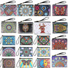 Mandala Special Shaped Diamond Painting Kit Wristlet Clutch Wallet Coin Purse US