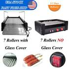 Hot Dog Stainless Electric 7/11Roller Grill 18/30Cooker Cover Commercial Machine
