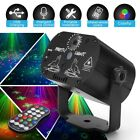 Mini RGB Disco Light Effect LED Stage Laser Projector red blue green Lamp USB Re