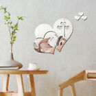 Acrylic Mirror Wall Sticker Home Art Decor Decoration For Living Room Bedroom