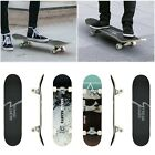 Professional Solid Concave Skateboard Complete Longboard Wheel Truck Maple Deck image