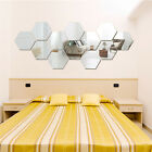 Acrylic Mirror Wall Sticker Decal For Home Room Wall Mounted Decoration 12 Pcs