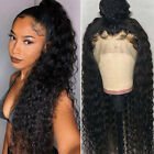 Unprocessed Indian Remy Human Hair Wigs Water Wave 360 Lace Front/Full Lace Wigs