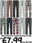 MENS CHARACTER PYJAMA BOTTOMS EX UK STORE PJ LOUNGE PANTS M-XXL 13 DESIGNS NEW