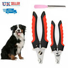 Dog Cat Rabbit Toe Nail Cutter Trimmer Grooming File Clippers Pet Claw Scissors