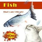 Simulation Fish Toy Catnip Cat Chew Wagging Electric Toys Jumping 30cm T2X8