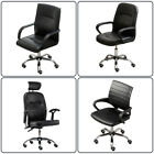 New Hydraulic Barber Chair Lift Chair Office Desk Computer Work Seats Adjustable