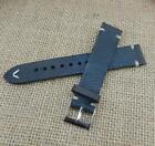 18-24mm Retro Genuine Leather Watch Strap Bracelet Replacement Buckle Wrist Band