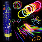 10pcs Heart Shaped Glow Stick Glasses Party Glowing In the Dark Light Sticks