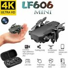 Mini Drone with 4K Camera HD Foldable Quadcopter Drones One-Key Return FPV Drone