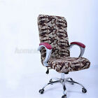 S/M/L Elastic Home Office Chair Seat Cover Computer Stool Slipcover Antimacassar