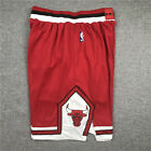 Chicago Bulls Red Jersey Shorts