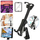 "Tablet Tripod Mount Clamp Holder Bracket 1/4""Thread Adapter For 7-12"" iPad Tab U"