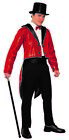 Sequin Mens Adult Dancer Tailcoat Costume Jacket