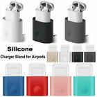 For Airpods Silicone Charging Dock Station Earphones Charger Stand Holder