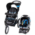 Baby Stroller & Car Seat Combo Jogger Infant Comfort Travel Carriage Black NEW