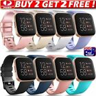 Replacement Silicone Wrist Band Strap Wristband For Fitbit Versa 1 2 Lite Watch