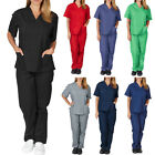 Kyпить Medical Doctor Nursing Scrubs Full Set Hospital Uniform Costume Unisex Men Women на еВаy.соm