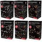 20m/10m Navidad 800/400 Luces LED Interior Red Eléctrica Blanco Multicolor