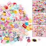 Slime DIY Candy Flat Back Beads Flatbacks Resin Scrapbooking Charms 30 Pcs/Pack