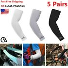 Kyпить 5 Pairs Cooling Arm Sleeves Outdoor Sport Basketball UV Sun Protection Arm Cover на еВаy.соm