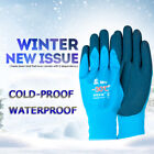 10 Pairs Thermo Coldproof Safety Work Gloves Double Latex Coated Protection
