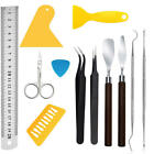 11Pieces Craft Vinyl Weeding Tool Set Basic Vinyl Tool Kit for Silhouettes Cameo