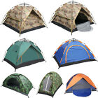 US Waterproof 1-4 Person Camping Tent Outdoor Hiking Family Travel Folding + Bag