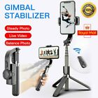 Mobile Phone Gimbal Video Stabiliser,Tripod,Selfie Stick,Bluetooth Control WD UK