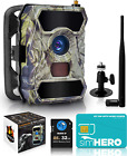 CREATIVE XP 3G Cellular Trail Cameras – Outdoor WiFi Full HD Wild Game Camera wi