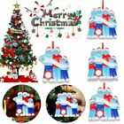 2020 Xmas Add Name Christmas Tree Hanging Ornaments Family Ornament Decor Gift