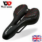 WEST BIKING Road Cycling Bicycle Seat Cushion Padded Mountain Bike Gel Saddle