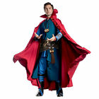 Mens Dlx Doctor Strange Halloween Costume + Cloak Pendant Accessories Adult L XL