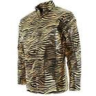 Mens Exotic Tiger Stripe Trainer Halloween Costume Long Sleeve Shirt
