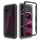 For T-Mobile TCL Revvl 5G 4 Shockproof Case Cover With Built-in Screen Protector